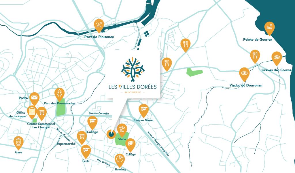 Les Villes Dorees_REALITES_situation quartier St Brieuc
