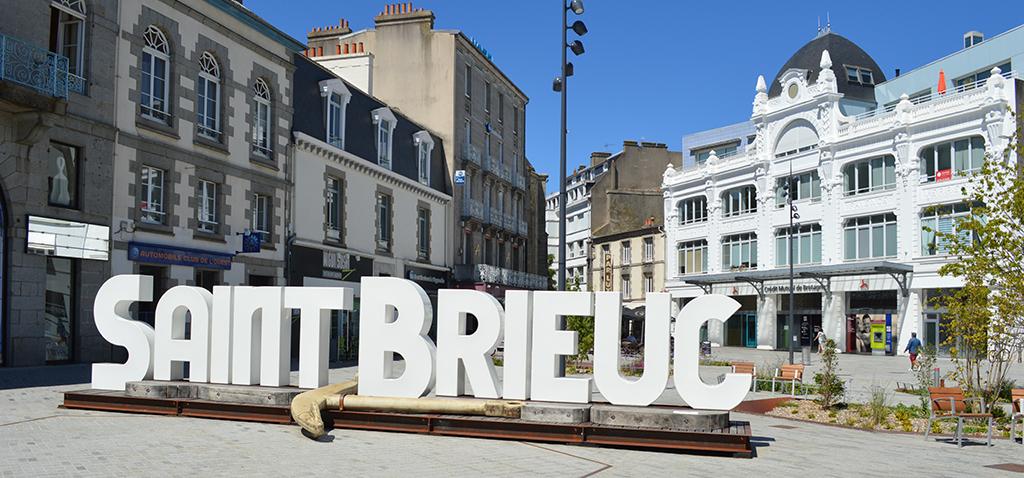 Saint-Brieuc, préfécture des Côtes d'Armor