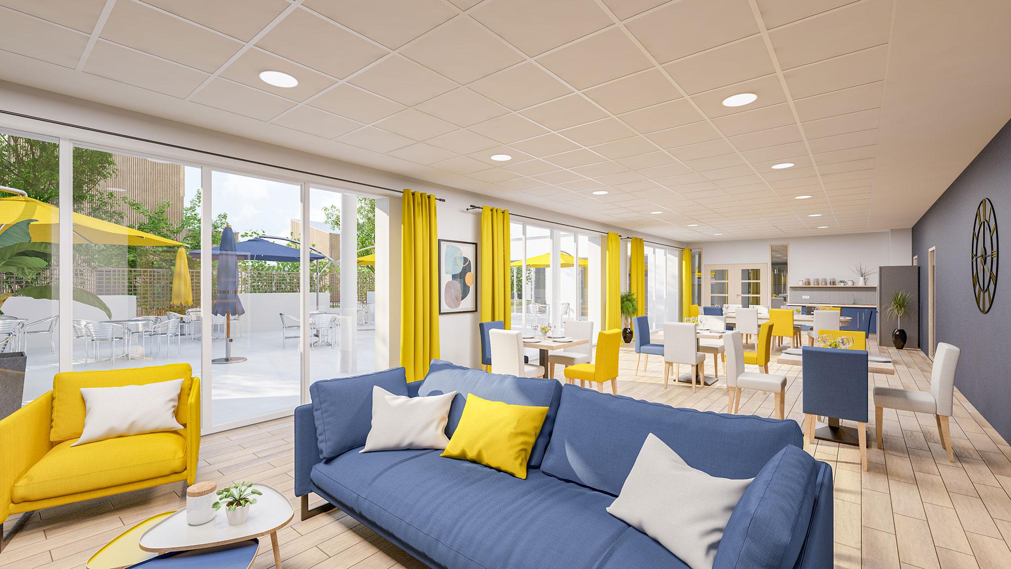 Les-Villes-Dorees_residence-services-senior-Heurus-vue-interieure